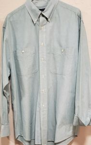 Round tree and Yorke oxford men's button up shirt